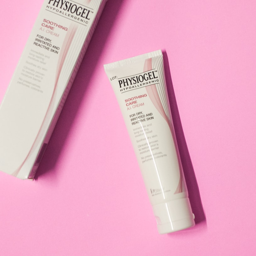 Physiogel AI cream ช่วยเรื่อง แพ้ skincare