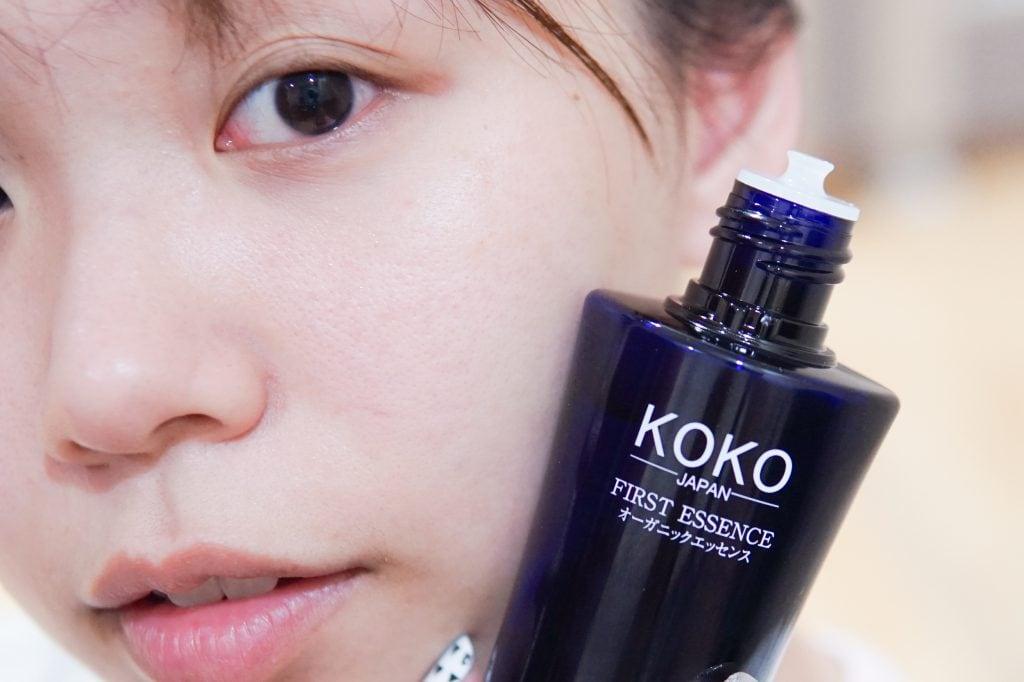 น้ำบวบบำรุงผิว Koko First Essenceจากประเทศญี่ปุ่น ฟื้นฟูผิวอย่างเห็นได้ชัด