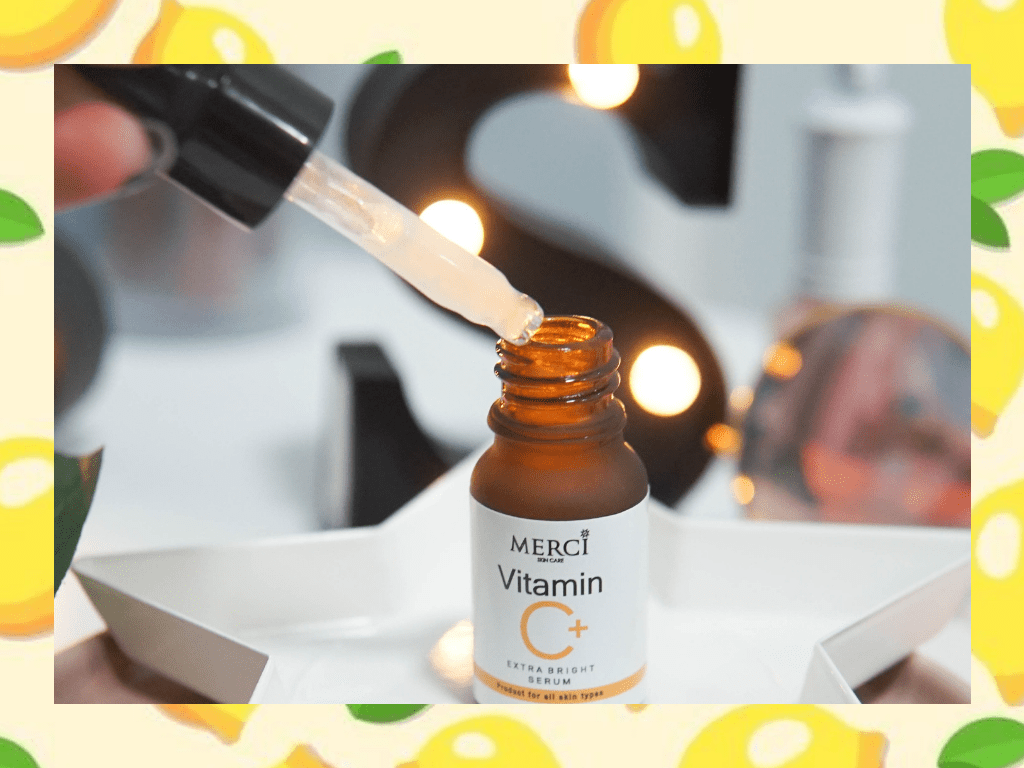 แพคเกจของ MERCI Vitamin C Extra Bright Serum