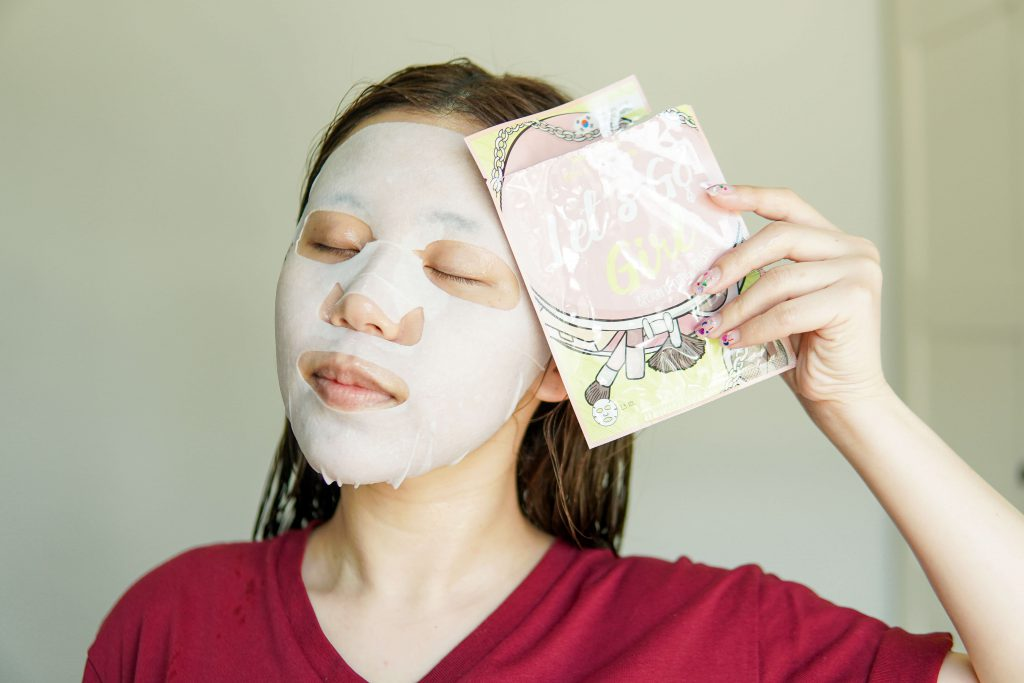 Let's Go Girl Brightening Mask Watsons 7 days masks challenge
