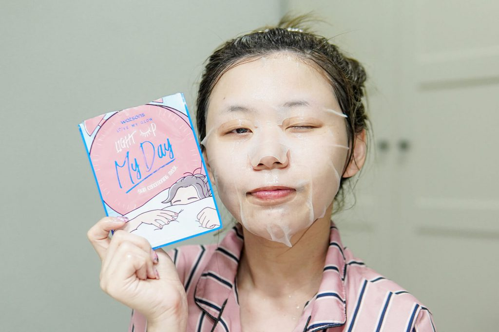 Light Up My Day Skin Conditioning Mask Watsons 7 days masks challenge