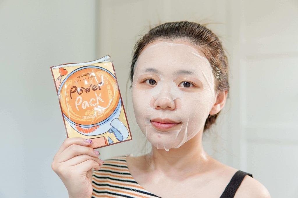 Power Pack Energizing Mask Watsons 7 days masks challenge