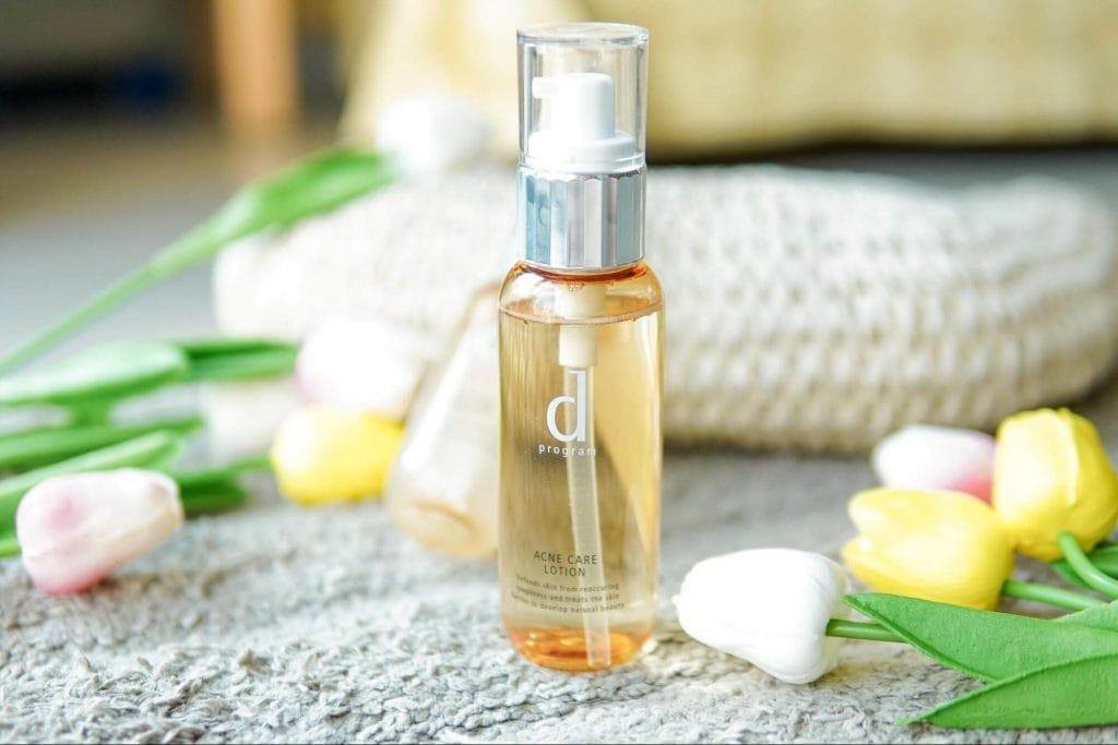 d program Acne care lotion