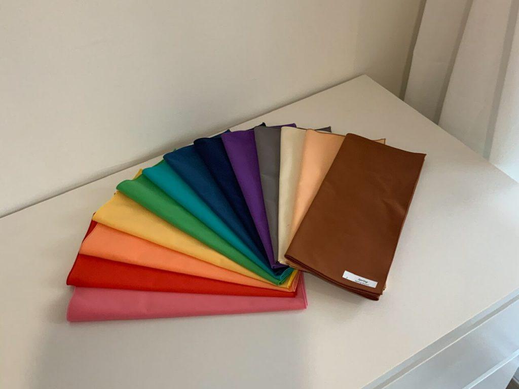 ผ้าในการใช้วิเคราะ Personal color